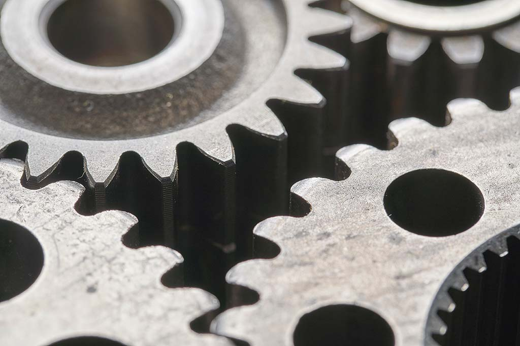 Gears, photo by Bill Oxford